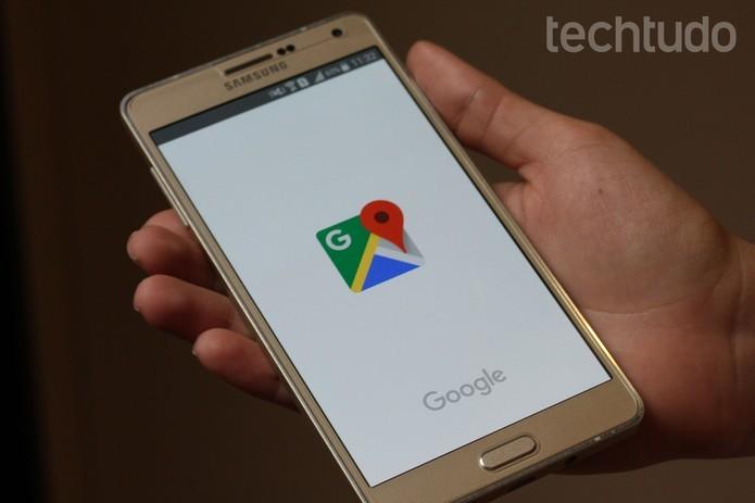 Saiba usar a nova primeira tela Google Maps no Android (Foto: Carolina Ochsendorf/TechTudo)