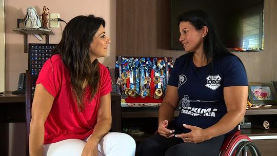 Mônica da Silva é inspiração na esgrima paralímpica brasileira