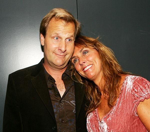 Jeff Daniels e Kathleen Rosemary Treado (Foto: Getty Images)