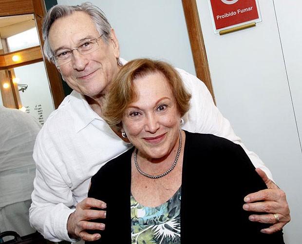 Paulo Goulart e Nicette Bruno (Foto: Roberto Filho/AgNews)