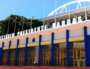 Est&#225;dio Presidente Vargas (Foto: Diego Morais / Globoesporte.com)