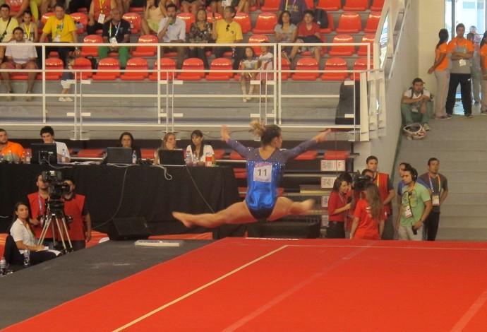 Jade Barbosa  Jogos Sul-Americanos (Foto: Gabriel Fricke)