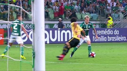 Palmeiras bate o São Bernardo e alivia pressão sobre Eduardo Baptista
