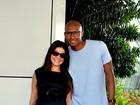 Samara Felippo dá à luz Lara com 2,675kg e 44cm