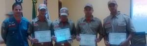 Corpo de Bombeiros de Agudos recebe mais quatro integrantes