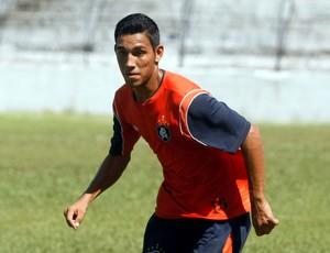 Alex Ruan - lateral-esquerdo do Remo (Foto: Marcelo Seabra/O Liberal)