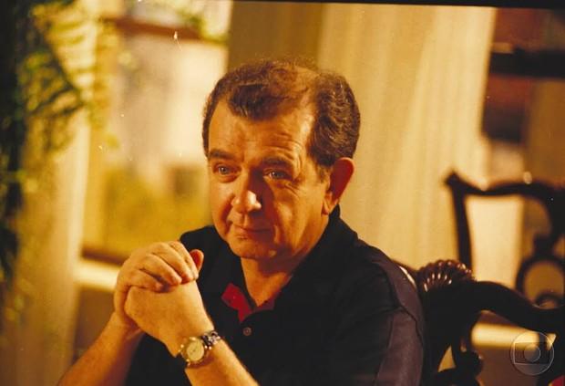 Umberto Magnani em História de Amor (Foto: Globo)