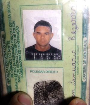 Aelson Januário Bezerra foi baleado quando voltava para casa (Foto: Kleber Teixeira/Inter TV Cabugi)