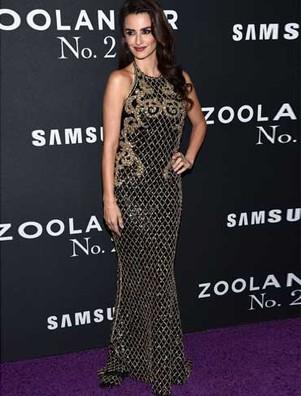 Penélope Cruz veste Balmain em Nova York