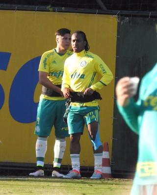 Arouca Cristaldo Palmeiras (Foto: Rodrigo Faber)