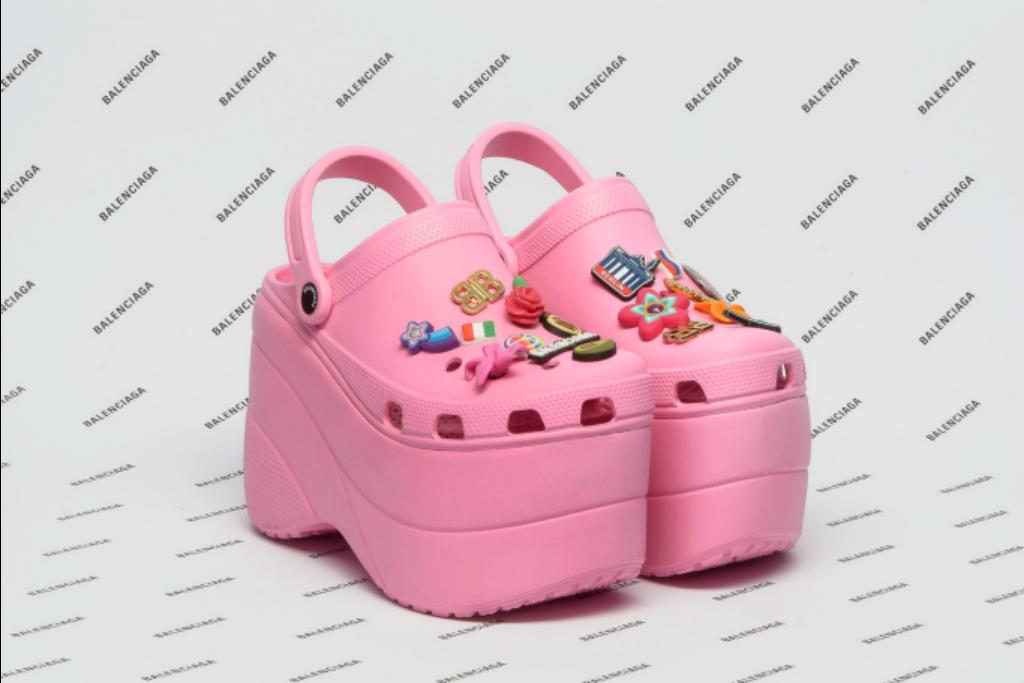 Crocs fashionistas: Balenciaga  (Foto: Divulgação)