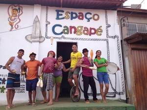 Espaço Cultural Cangapé vai promover oficinas de iniciação teatral e atividades literárias (Foto: Philippe Gomes/G1)