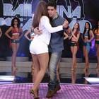 Renatinho mostra gingado em dança (Felipe Monteiro/Gshow)