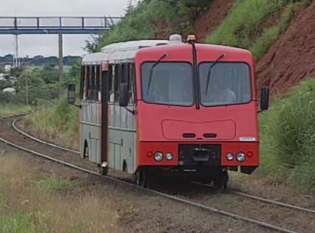 Projeto do trem caipira ligava cidade de Rio Preto ao distrito de Engenheiro Schmitt. (Foto: Reprodução/ Tv Tem)