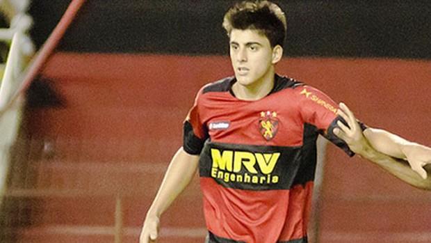Milton Júnior, meio-campo do Sport (Foto: Divulgação/Sport)