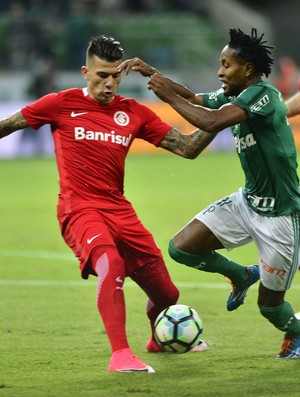 Zé Roberto Victor Cuesta Léo Ortiz Palmeiras Inter Copa do Brasil Arena Palestra (Foto: Marcos Ribolli / GloboEsporte.com)