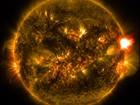 Nasa divulga imagens da primeira erupção solar detectada em 2015