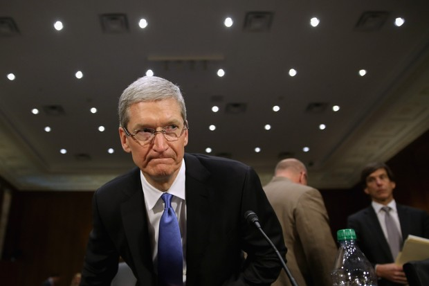 Tim Cook, da Apple (Foto: getty images)