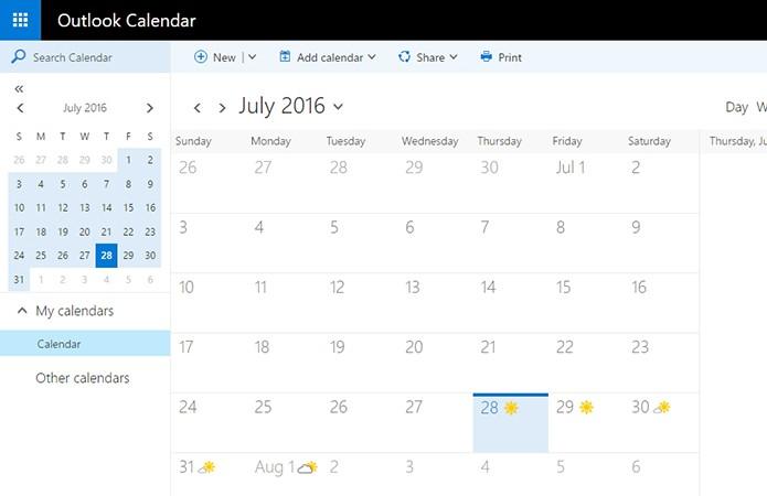 Outlook é ideal para quem usa Windows (Foto: Reprodução/Paulo Alves)