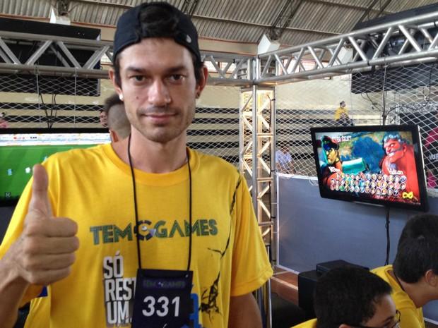 Hugo TEM Games 2014 em Tatuí (Foto: Tatiane Santos / G1)