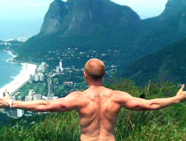 tatuagem nas costas do travis trentham (Foto: Arquivo Pessoal)