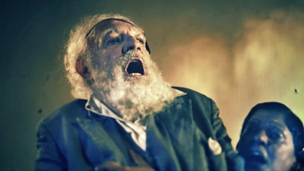 A comédia é exibida em volta das fanfarronices de um típico mentiroso do sertão (Foto: Divulgação Rede Globo)