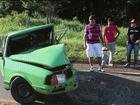 Batida frontal deixa motorista morto e três passageiros feridos no Paraná