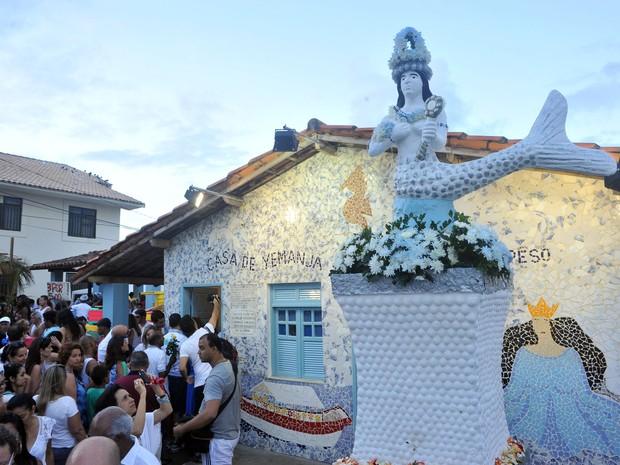 Festa de Iemanjá 2014 em Salvador (Foto: Max Haack/Ag Haack)