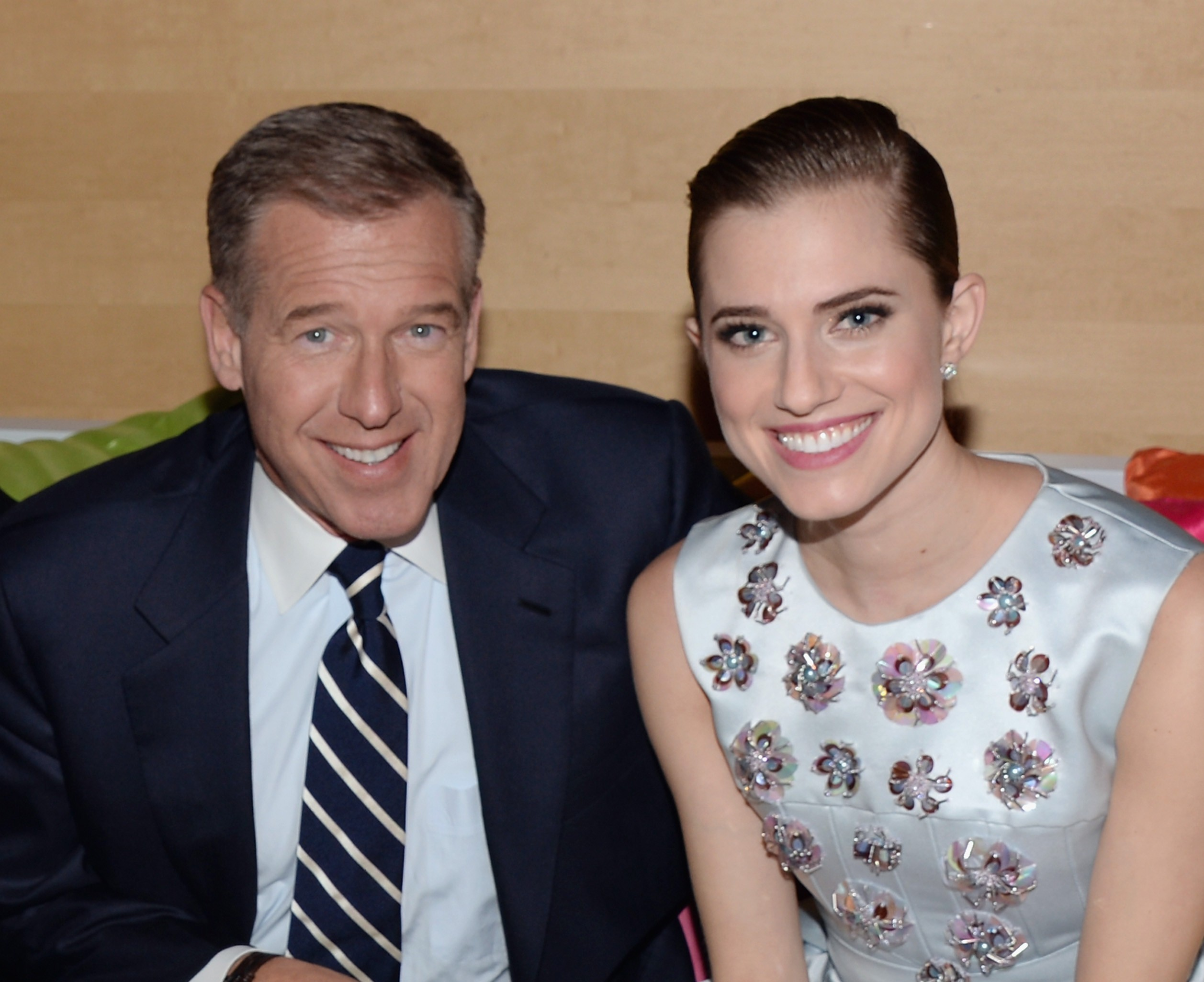 Brian e Allison Williams (Foto: Getty Images)