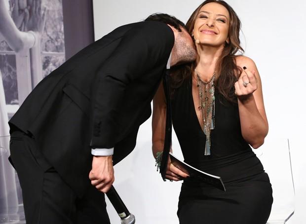 Ian Somerhalder e Sabrina Parlatore (Foto: Manuela Scarpa/Photo Rio News)
