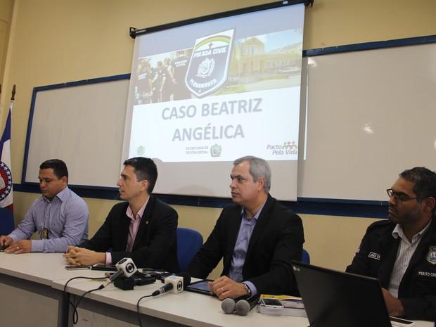 Coletiva de imprensa foi realizada nesta quinta-feira (14), em Petrolina (Foto: Taisa Alencar / G1)