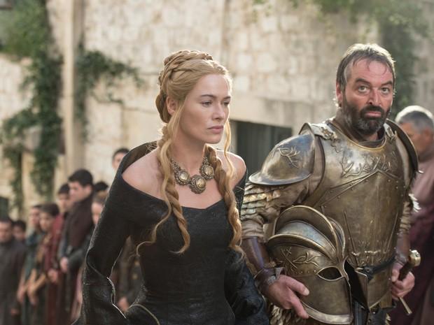 Lena Headey como Cersei Lannister em 'Game of thrones' (Foto: Divulgação)