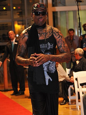 dennis rodman basquete hall da fama (Foto: Getty Images)