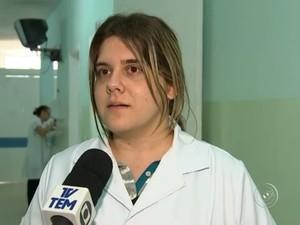 Funcionários trabalharam com falsa médica (Foto: Reprodução/TV TEM)