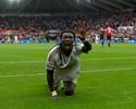 "Presa fácil: ""Pantera"" marca, e United perde de virada para o Swansea"