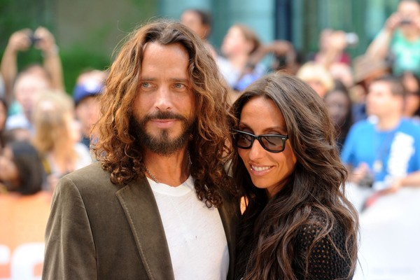 Chris Cornell e sua mulher Vicky Karayiannis (Foto: Getty Images)