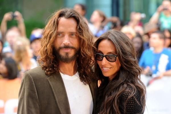Chris Cornell e sua mulher Vicky Karayiannis (Foto: Getty Images)
