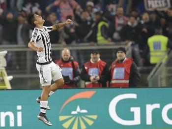 Paulo Dybala Juventus x Lazio (Foto: AP)