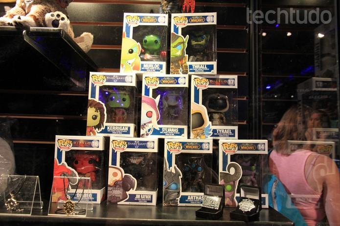 WoW, Starcraft e Diablo estão sempre no top das compras (Foto: Anna Kellen Bull / TechTudo)