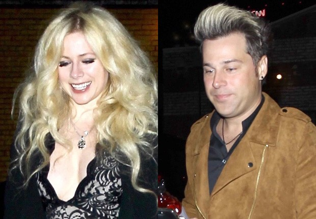 Avril Lavigne e o namorado, Ryan Cabrera (Foto: BackGrid)