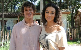 Vai dar romance? Debóra e Loreto curtem aproximação de Taís e Candinho