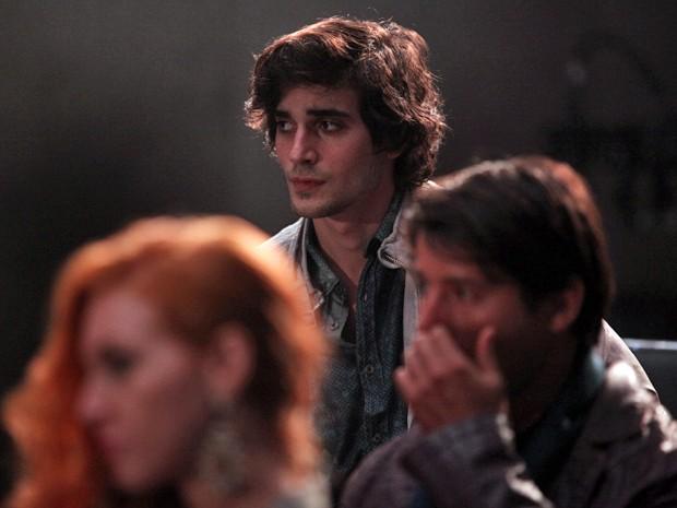 Fiuk também está presente na gravação. Qual será o evento? (Foto: Pedro Curi/TV Globo)