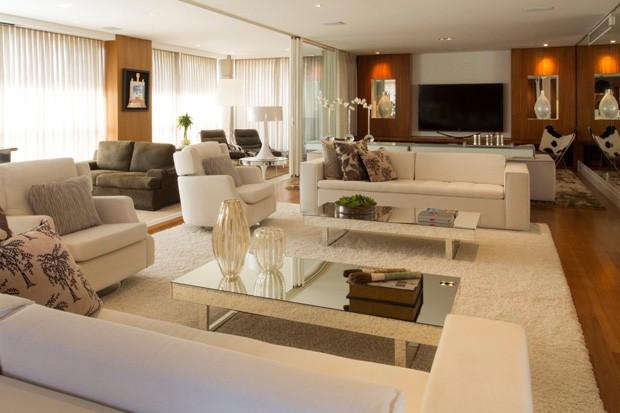 Quem decora por camila klein como integrar os ambientes for Apartamentos interiores contemporaneos