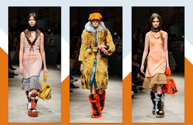 Prada, inverno 2018 (Foto: Antonio Barros, Getty Images e ImaxTree)