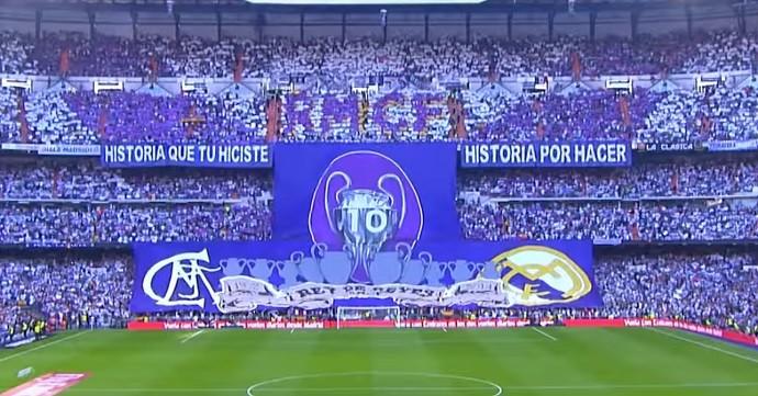 Mosaico torcida Real Madrid