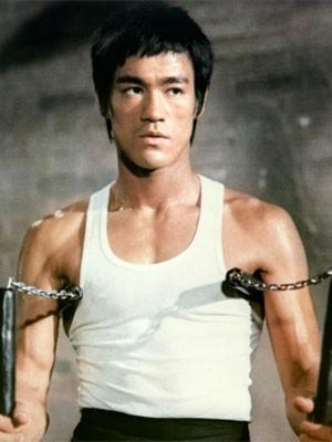 Bruce Lee em 'O voo do dragão' (Foto: Divulgação)