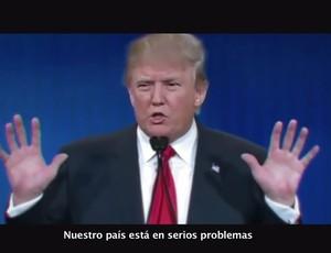 BLOG: Canal de TV usa discurso de Trump para promover Argentina na Copa América