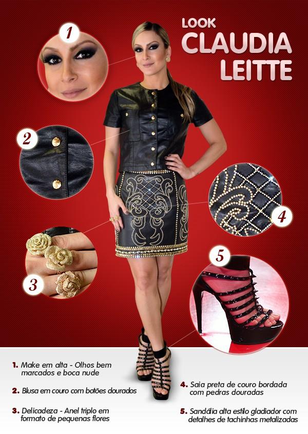 Look Claudia Leite (Foto: The Voice Brasil/TV Globo)