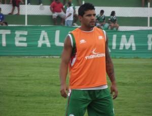 Rico, atacante do Alecrim (Foto: Tiago Menezes)