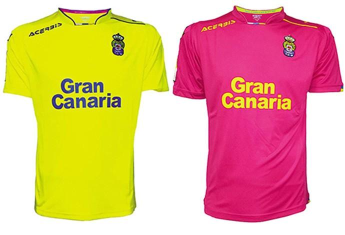 Camisas espanhol Las Palmas